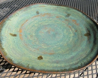 Stoneware Platter or Decorative Dish