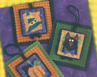 Lizzie Kate - Halloween HangUps II - Pattern for Punchneedle  - Natural Weavers Cloth