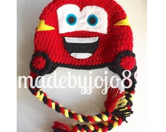 Cars Hat, Lightning McQueen, Mater Hat, Cars theme, Cars Birthday Party ideas