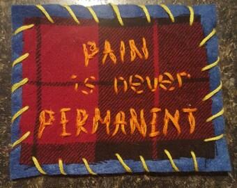 "Neck Deep ""December"" Sew-On Patch"