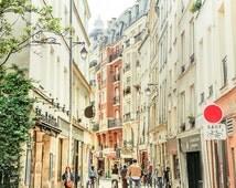 """Paris Art, Paris Buildings, Fine Art Print, Urban Photography, French Art, Paris Wall Decor, Paris Print, Paris Street """"Afternoon in Paris"""""""