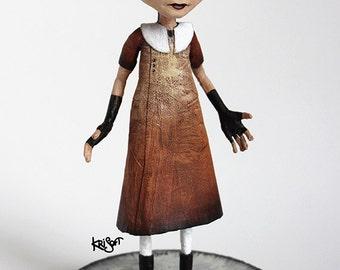 Vicky Foxy Lady OOAK DOLL KriSoft