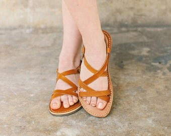 Light Brown Sandals, Summer Sandals, Leather Sandals In Brown Color, Women Sandals, Leather Sandals, Summer Sandals, Handmade Sandals