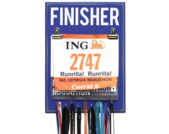Running Medal Holder - FINISHER - 10 Colors Available!