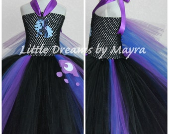 My little pony nightmare moon inspired tutu dress - Nightmare moon princess luna inspired costume size nb to 14years