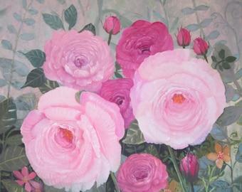 Harmony, original oil painting, 16x20
