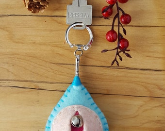 Vagina keychain, vulva keyfob, vag key, lesbian keyring, feminist totem, midwifery gift • ships by Jan 31, 2017, at the latest :)