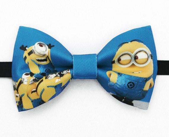 handmade minion minions bowtie bow tie tie