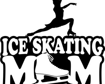 Ice Skating Mom T Shirt/ Ice Skating Mom Shirt/ Ice Skating Mom Gift/Ice Skating Mom/Girl Skater Ice Skating Mom Short Sleeve Gildan T Shirt