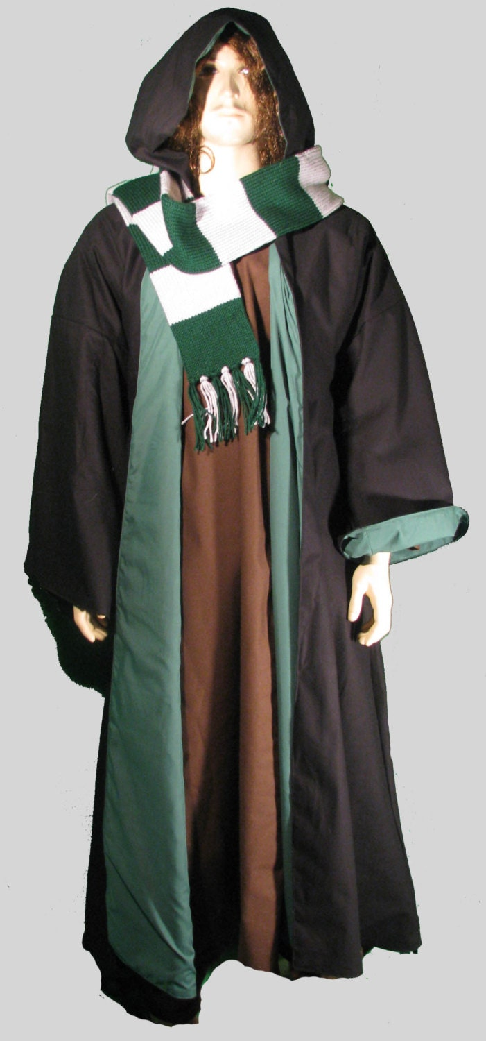 how to make a wizard robe with a hood