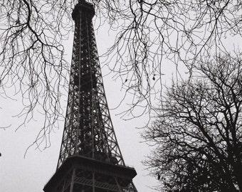 Paris in black & white film photography