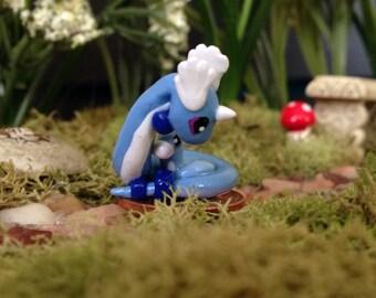 Dragonair Cuddling Dratini Pokemon Inspired Sculpture