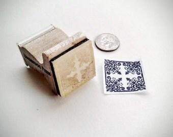 """Stamp - Victorian Stencil, 1""""x1"""""""