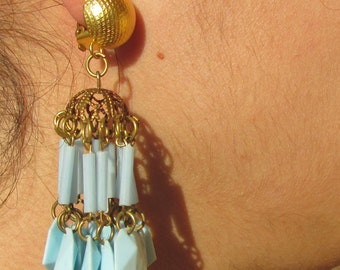 Sky blue earrings Years