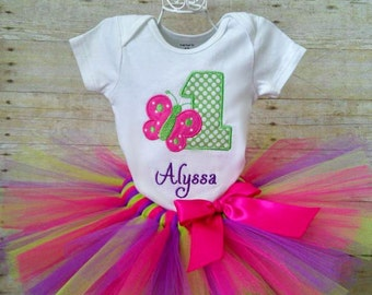 1st Birthday Butterfly Tutu Outfit, Butterfly Cake Smash, Butterfly Birthday Party
