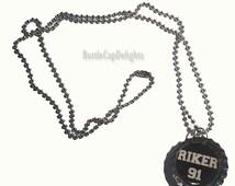 Riker Lynch Bottle Cap Necklace