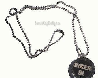 R5 Bottle Cap Necklace