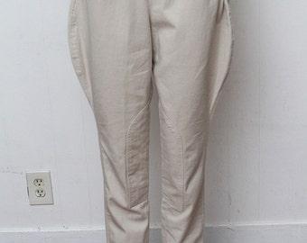1980s // Vintage // Banana Republic // Original Label // Extremely Rare // Equestrian Riding Pants// Size S/M