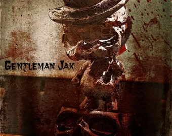 Jack the Ripper-designer toy-resin toy-art toy- toy resin handpainted figure- art sculpture- Gentleman Jax Limited Edition