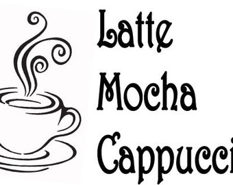 Latte Mocha Cappuccino