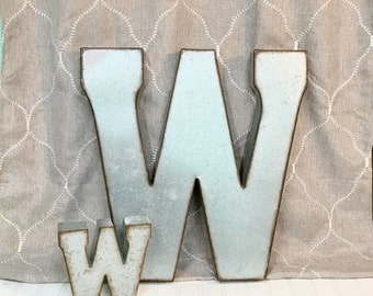 Giant Metal Letters For Wall Large Metal Lettersfarmhouseletter Pgalvanized Metal