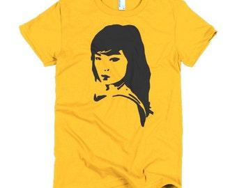 Bjork T-shirt Ladies Debut