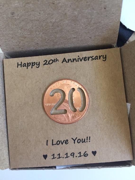 20th Anniversary Happy Anniversary Anniversary Gift Twenty