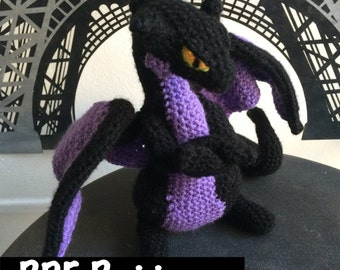 Grouchy Dragon Crochet Pattern