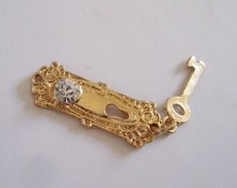 Miniature Keyhole,  Miniature Escutcheon, Key Keyhole Escutcheon,Doll House Keyhole, Escutcheon, Miniature keyhole plate