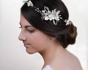 Sale 20% off - Bridal comb, Bridal Headpiece - Isabella