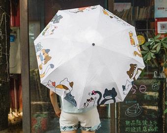 For Cat Person collection super cute umbrella