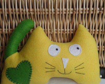 Colin the Cat Soft Toy - Personalise