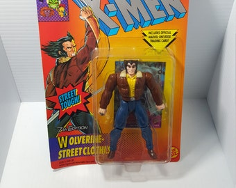 1994 Xmen Wolverine 7th edition Street Clothes Marvel Comics action figure NEW