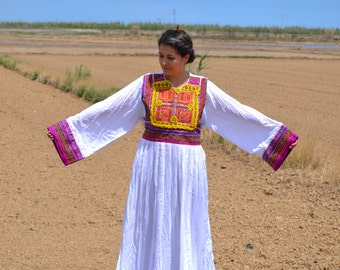 Sale............30% off........AFGHAN DRESS, KUCHI Dress