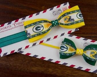 Green Bay Packers  Tuxedo Headband.