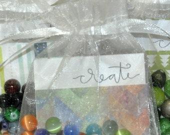 Beaded Bracelet Kit. DIY Bracelet Kit. Arts and Crafts. Party Favors. Personalized Bracelet. Birthday Favors. Bracelet Kit. Thank You Gift.