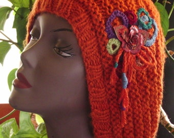 Very Soft lightweight Orange hat.