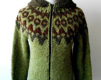 Wool Hooded Sweater