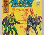 Action Comics; Vol 1, 544 Bronze Age Comic Book. VF (8.0). June 1983.  DC Comics