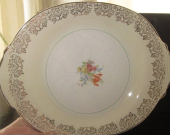 Set of 2 Serving Platters - Salem China Sovereign Pattern