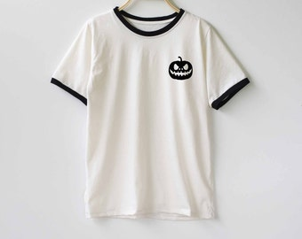 Halloween Shirt Jack O lantern Shirt TShirt T-Shirt T Shirt Tee