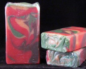 Autumn is Awesome Cold Process Silk Soap