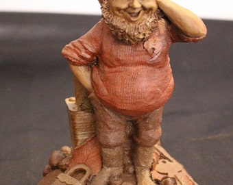 Tom Clark Gnome Figurine Retired Edition #22 LOCKE 1985