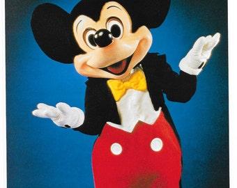 Disney Photo Prints MICKEY MOUSE 8x10 Print #5987 Vintage 1985 Printed in Japan