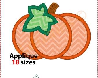Pumpkin Applique Design. Pumpkin embroidery design. Embroidery designs pumpkin. Applique design pumpkin. Halloween Machine embroidery design