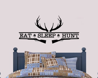 Hunting wall decal etsy for Hunting wall decals