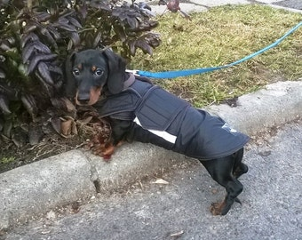 Dachshund Dog Raincoat - Dog Jacket - Custom Dog Coat - Waterproof Dog Rain Coat - Dog Rain Clothes - Custom made for your dog