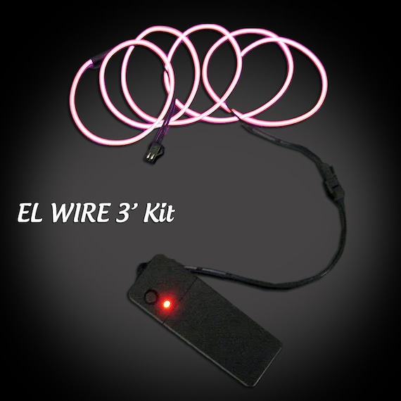 Foot m el wire kit electroluminescent glow by exglow