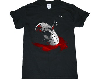 Friday the 13th Jason Voorhees  Men's/Women's Horror Movie T-Shirt