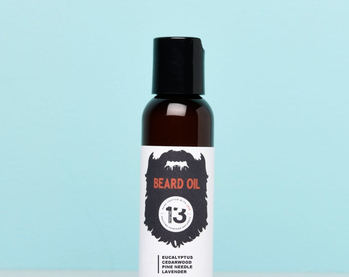 Eucalyptus, Cedarwood, Pine Needle and Lavender Beard Conditioning Oil